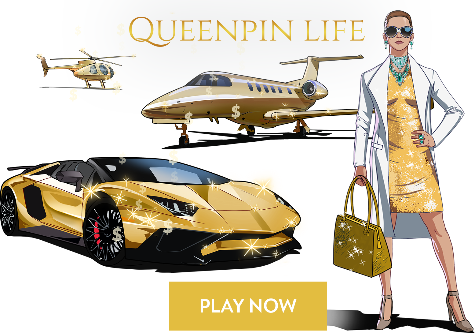 Queenpin Life game promo